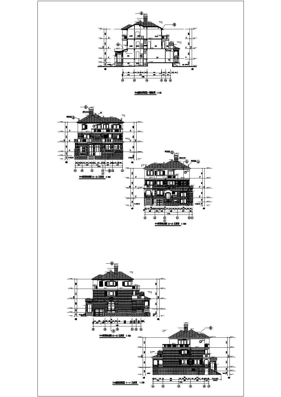 【浙江】某地C+A型联排别墅采暖系统图图片1