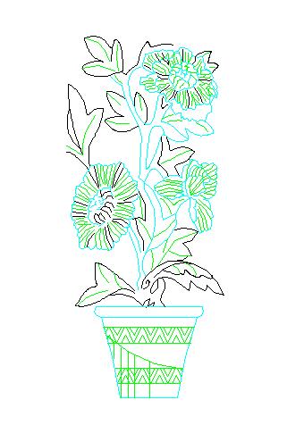 建筑CAD常用千种图块之植物图例设计大全(近300个图)图片1