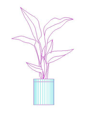 建筑CAD常用千种图块之植物图例设计大全(近300个图)图片2