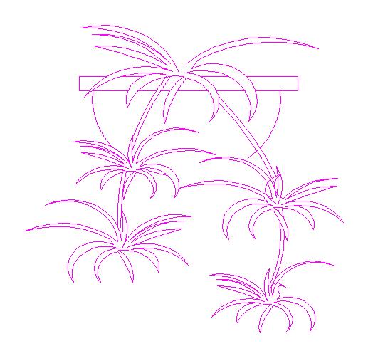 建筑CAD常用千种图块之植物图例设计大全(近300个图)图片3