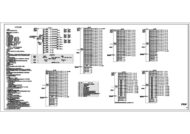 某地带办公的丙类钢结构厂房电气施工图图片1