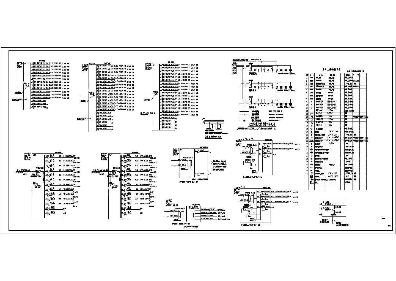 某地带办公的丙类钢结构厂房电气施工图图片2