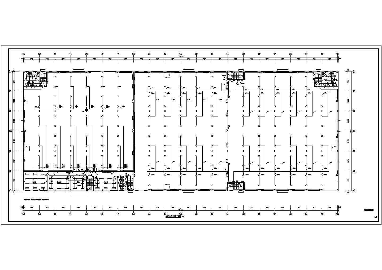 某地带办公的丙类钢结构厂房电气施工图图片3