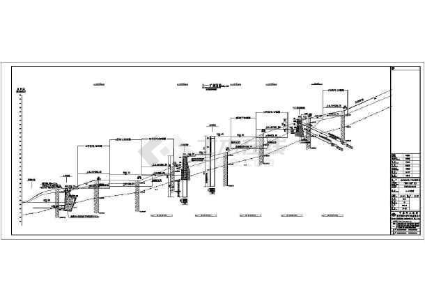 点击查看某挡墙工程结构施工图第2张大图