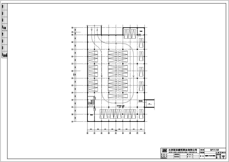【扬州】大王庙广场某仿古建筑方案设计图含效果图图片3