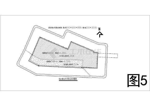 某地下室基坑围护及土方开挖施工图-图3