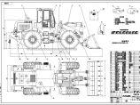 徐工LW540F轮式装载机CAD图纸图片1