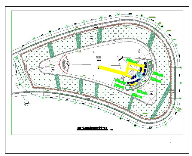 某服务中心VRV空调通风防排烟系统设计施工图(含负荷计算)图片1