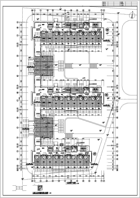 【山东】敬老院扩建项目地板辐射采暖系统施工图图片1