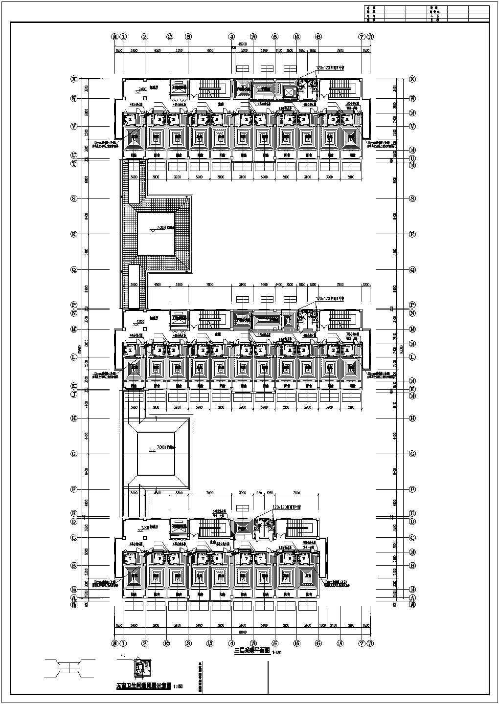 【山东】敬老院扩建项目地板辐射采暖系统施工图图片3