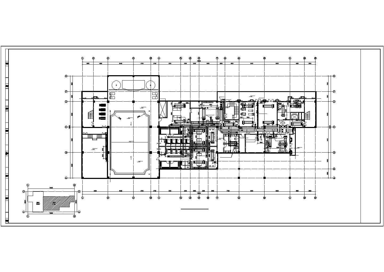 【山西】高级商业会所空调采暖及防排烟系统设计施工图(VRV系统 地板辐射采暖系统)图片2