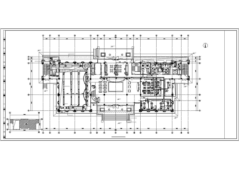 【山西】高级商业会所空调采暖及防排烟系统设计施工图(VRV系统 地板辐射采暖系统)图片3
