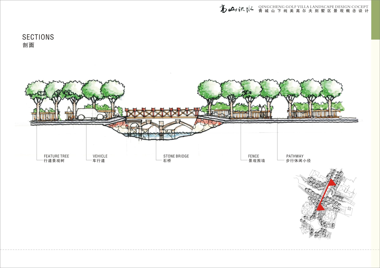 【成都】高山流水青城山下纯美高尔夫别墅景观方案图片3