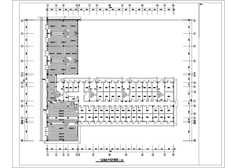 【辽宁】多层商业住宅楼地热辐射采暖系统设计施工图(连续供暖系统)图片3