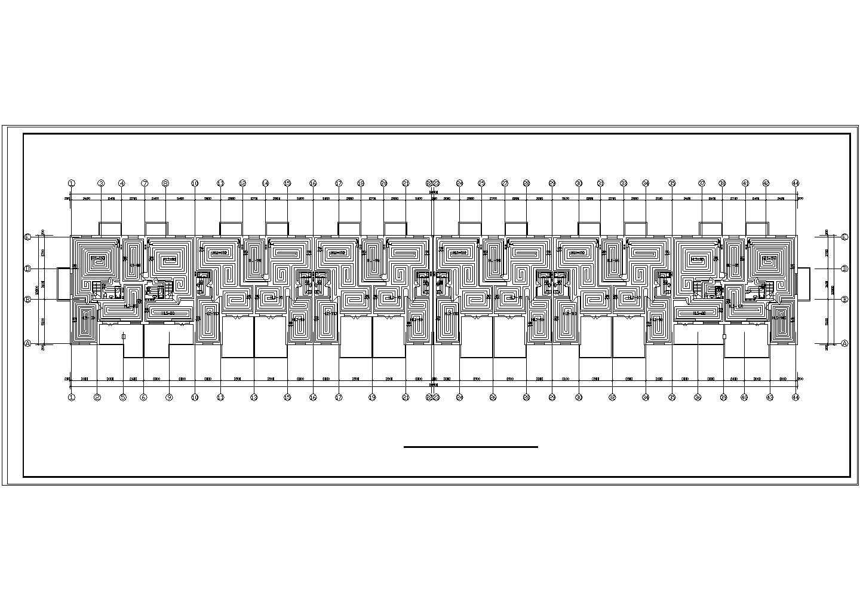 【黑龙江】小型住宅楼地板辐射采暖系统设计施工图图片2