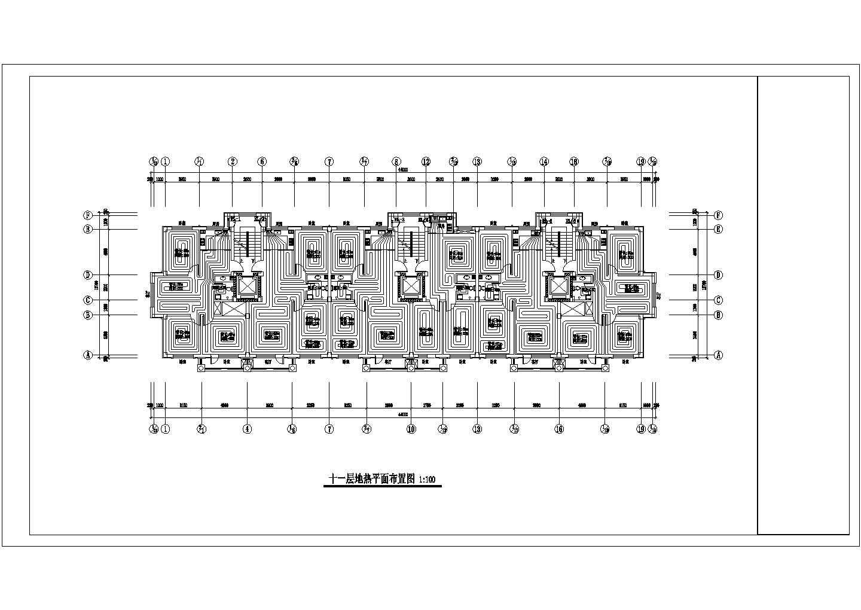 【辽宁】中高层住宅楼地热辐射采暖系统设计施工图图片2