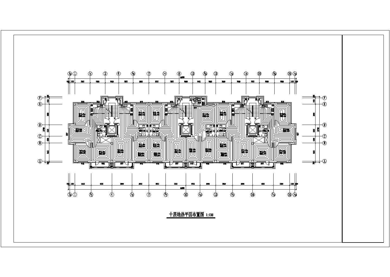 【辽宁】中高层住宅楼地热辐射采暖系统设计施工图图片3