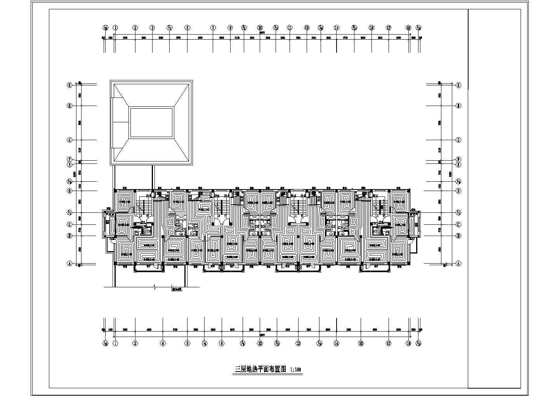 多层住宅楼地热辐射采暖系统设计施工图图片3