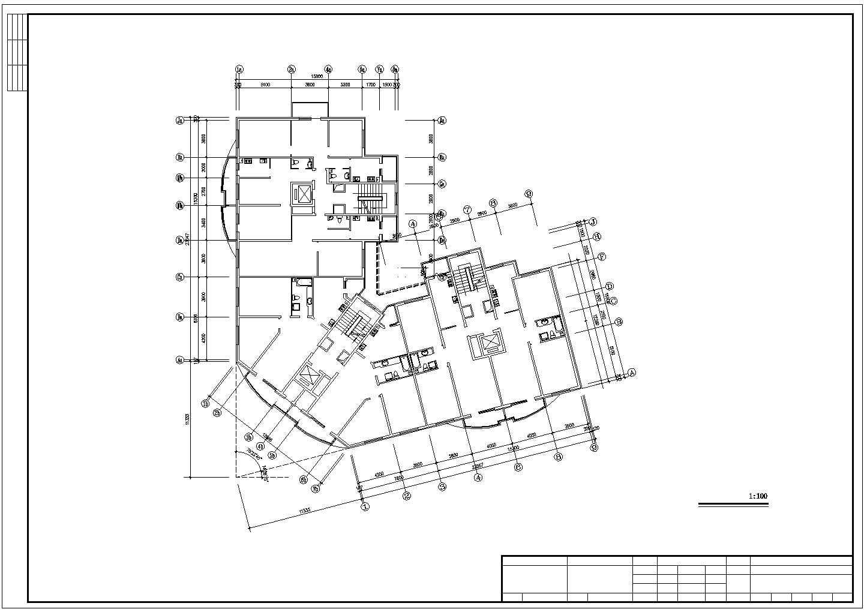 小型小高层办公楼地板辐射采暖系统设计施工图图片1