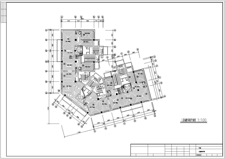 小型小高层办公楼地板辐射采暖系统设计施工图图片3