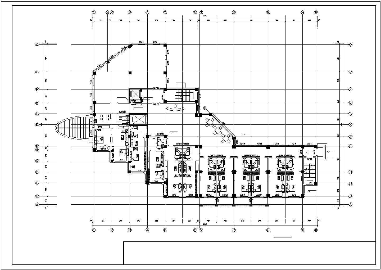 【辽宁】养老院改扩建工程地热辐射采暖系统设计施工图图片1