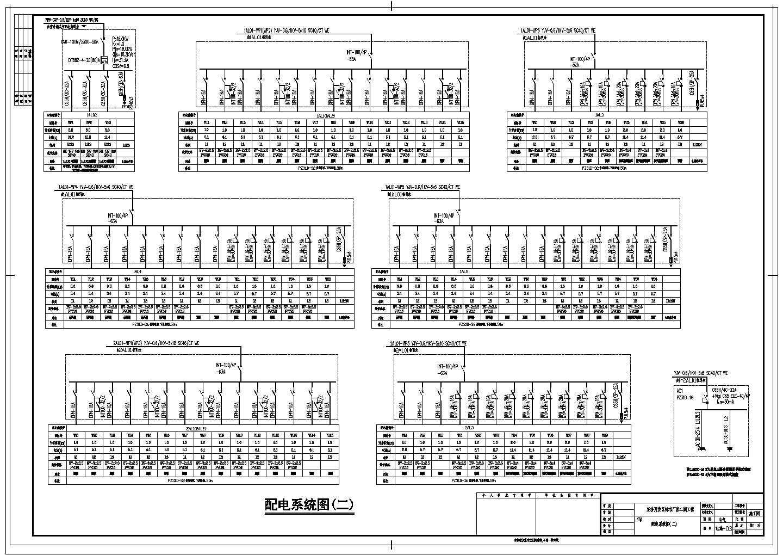 某经济开发区标准厂房电气设计施工图图片3