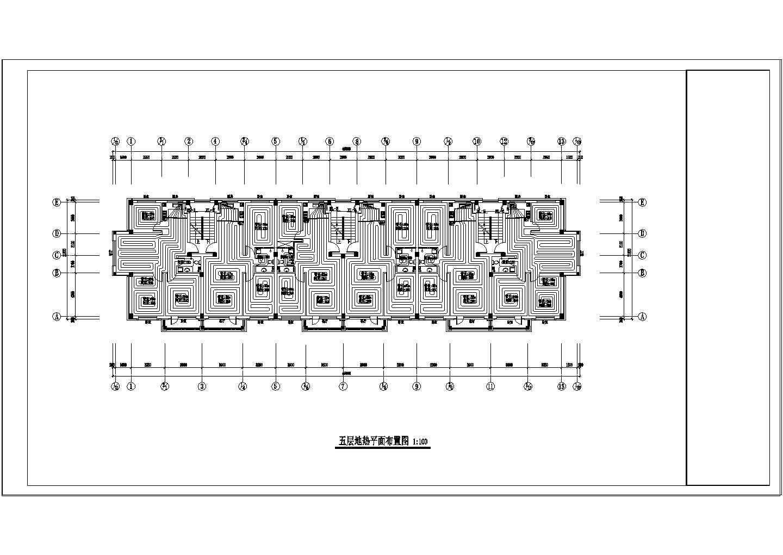 【辽宁】多栋多层住宅楼地热辐射采暖系统设计施工图图片1