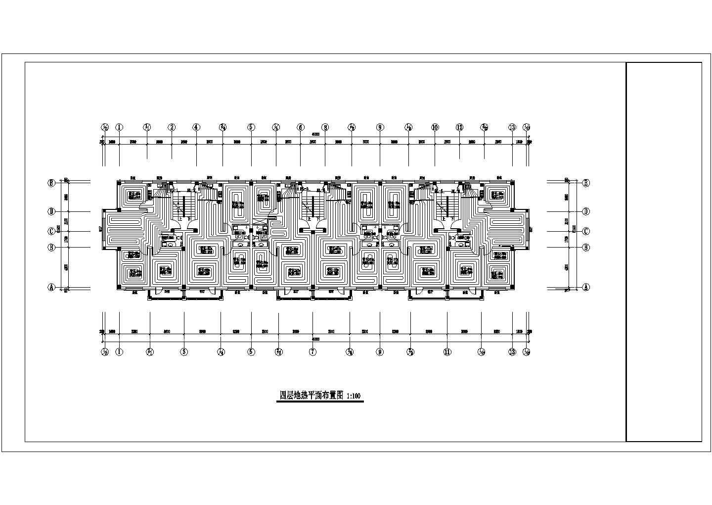【辽宁】多栋多层住宅楼地热辐射采暖系统设计施工图图片3