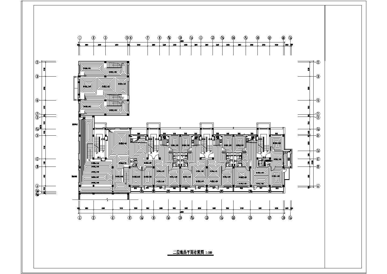 【辽宁】多层住宅楼地热辐射采暖系统设计施工图图片3