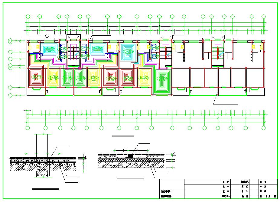 【北京】住宅楼建筑地板辐射采暖系统设计施工图图片2