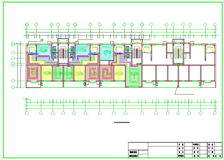 【北京】住宅楼建筑地板辐射采暖系统设计施工图图片3