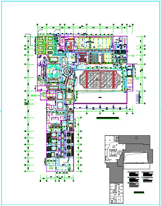 【江苏】五层公寓楼给排水消防施工图(同层排水 直饮水系统)图片2