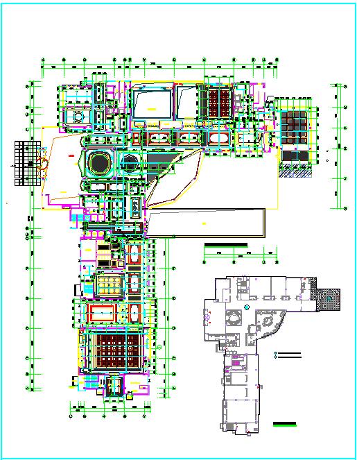 【江苏】五层公寓楼给排水消防施工图(同层排水 直饮水系统)图片3