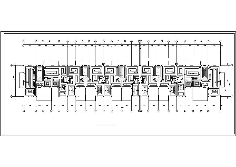 【黑龙江】标准住宅楼地板辐射采暖系统设计施工图(含大样图)图片1