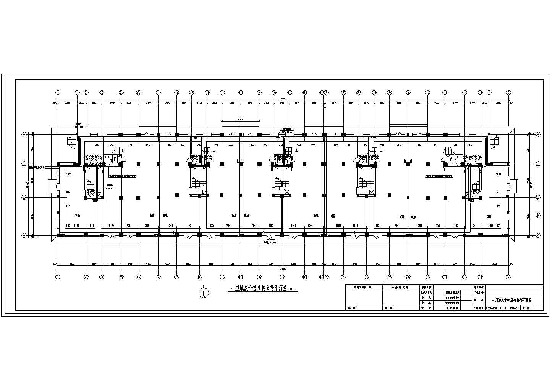 【黑龙江】标准住宅楼地板辐射采暖系统设计施工图(含大样图)图片2