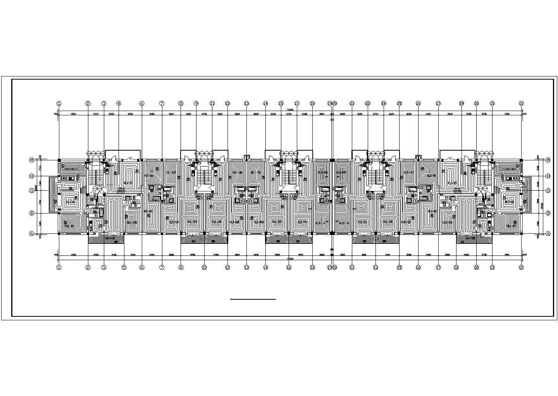 【黑龙江】标准住宅楼地板辐射采暖系统设计施工图(含大样图)图片3